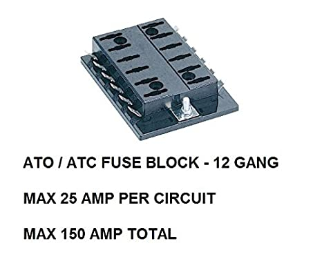 41Pw sDFwDL._SX466_ amazon com ato atc fuse block 12 gang for auto, rv, boat Camper Fuse Panel at readyjetset.co