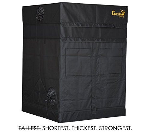 Gorilla Grow Tent Shorty 4x4 by Gorilla Grow Tent
