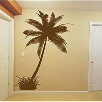 Wall Decal Sticker Bedroom Palm Tree Jungles Beach Island Room Decor 315b Part 69
