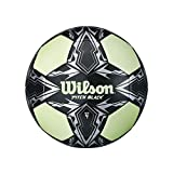 Wilson Balon Soccer Pitch Black 4 VRNG, Verde