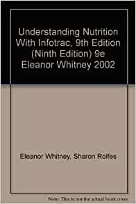 whitney & rolfes understanding nutrition pdf
