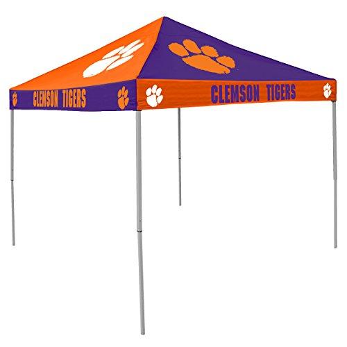 (Logo Brands NCAA CB Tent, Clemson, 9 foot X 9 foot)