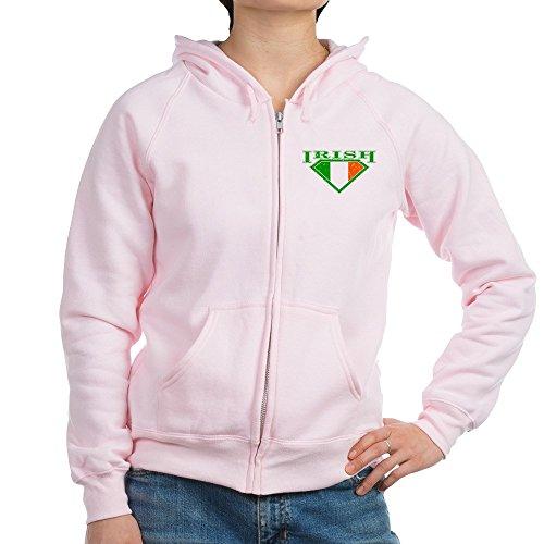 Irish Womens Zip Hoodie - 3
