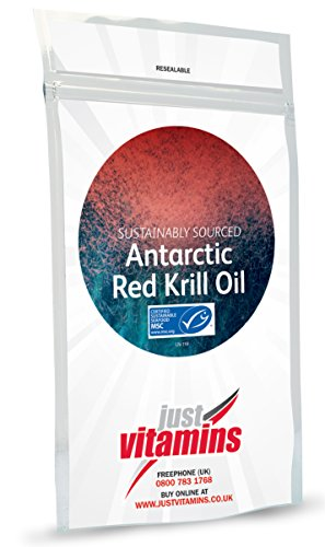 Just Vitamins Krill Oil 500mg 120 capsules by Just Vitamins by Just Vitamins Ltd