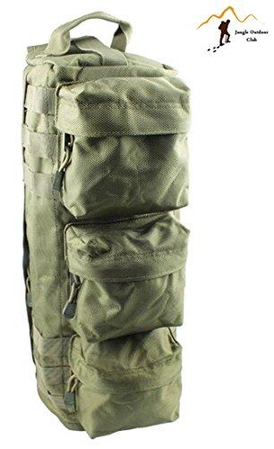 Jungle Oxford zaino piccolo sacchetto esterno impermeabile arrampicata alpinismo pacchetto pacchetto viaggio borsa a tracolla molle tattico tasche Wild zaino da escursionismo, verde militare