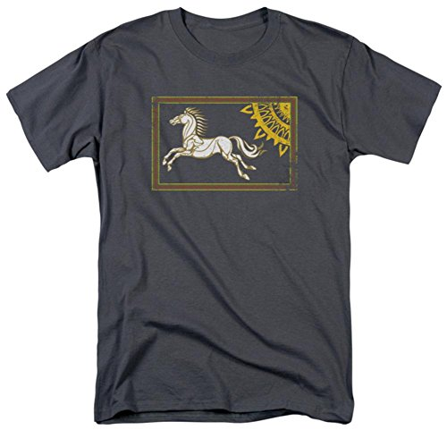 Lord Rings Rohan Banner T Shirt product image