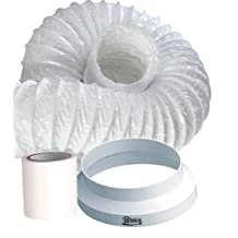 3m Portable Air conditioner Exhaust duct hose extension kit, Increase the length of your existing flexible hose