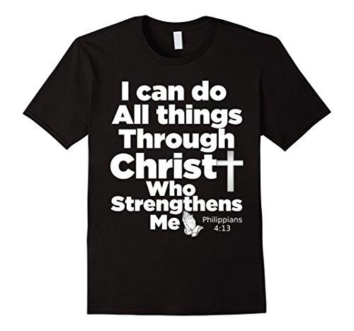 Mens Christian Bible Verse T-Shirt - Jesus Christ God Tee Shirt XL (T-shirt Jesus Christ Christian God)