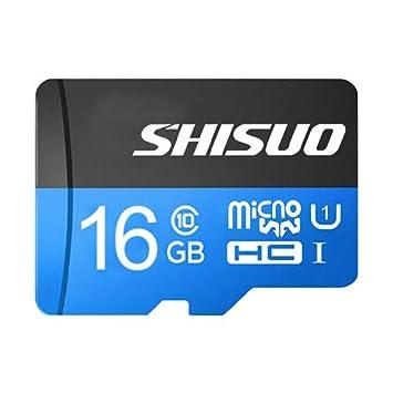 BAIYI Micro Alta Velocidad Tarjeta SD Tarjeta de Memoria 16G ...
