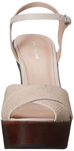 Pour La Victoire Donna Dakota Open Toe Speciale Piattaforma Con Piattaforma Sandalo In Pelle Di Osso