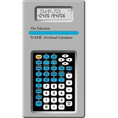TI-34 II Overhead Calculator