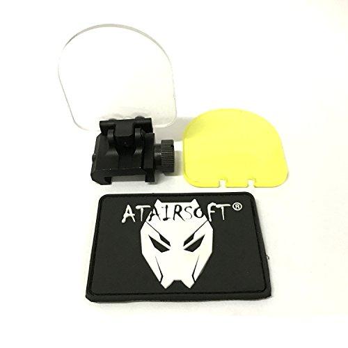 ATAIRSOFT Airsoft Dot Sight Reflex Scope Screen Protector 20mm QD Mount (BK)