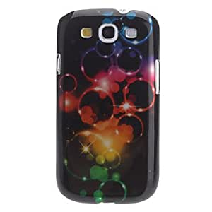 LHY 3D Effect Bubble Pattern Hard Case for Samsung Galaxy S3 I9300
