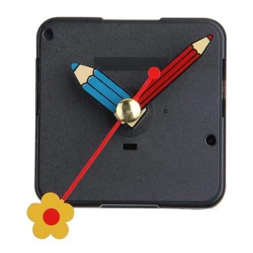 Amazon.com: Nuts Huscus Mecanismo Reloj Cuarzo Horario Minutero Segundero Flor DIY: Home Improvement