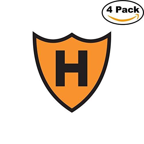 Club Holanda Barrio Obrero de Mercedes Argentina Soccer Football Club FC 4 Stickers Car Bumper Window Sticker Decal 4X4