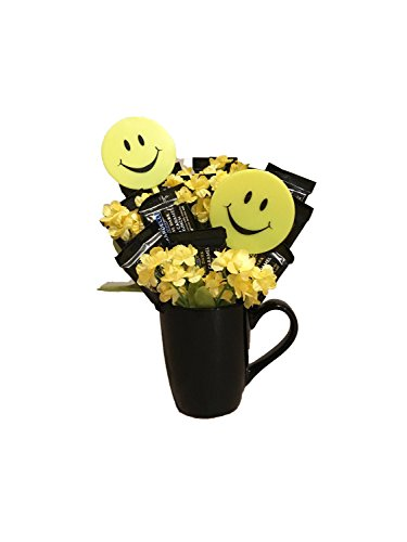 Cup of Sunshine Ghiradelli Candy Bouquet