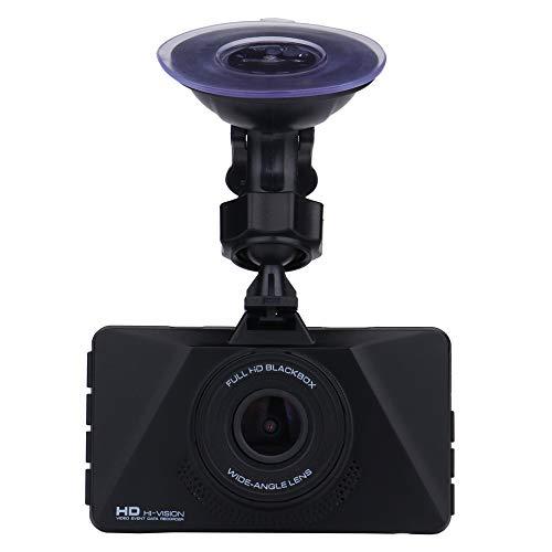 (Dash Cam FHD 1080P 170 Wide Angle Parking Monitor Loop Recording Car Camera Loop Recording Maoyou Black)