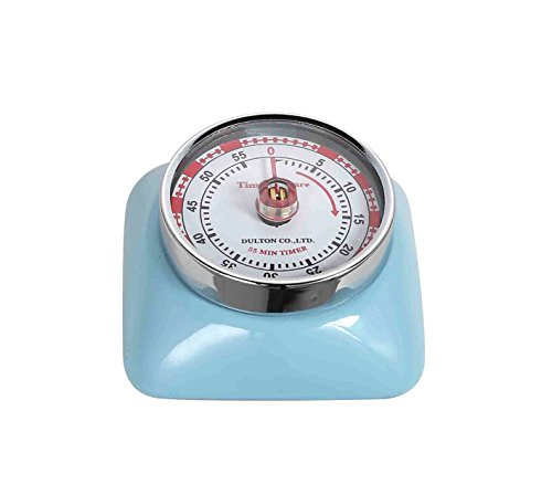 Magnetic 55 Minute Kitchen Timer Square - SAX (Baby Blue)