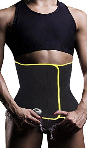 3-5 Days Delivery Neoprene Sauna Women Waist Trainer Trimmer Belt Belly Fat Burner Sweat Corset Body Shaper Ab Cincher Slimming Stomach Wrap for Workout Weight Loss for Women & Men