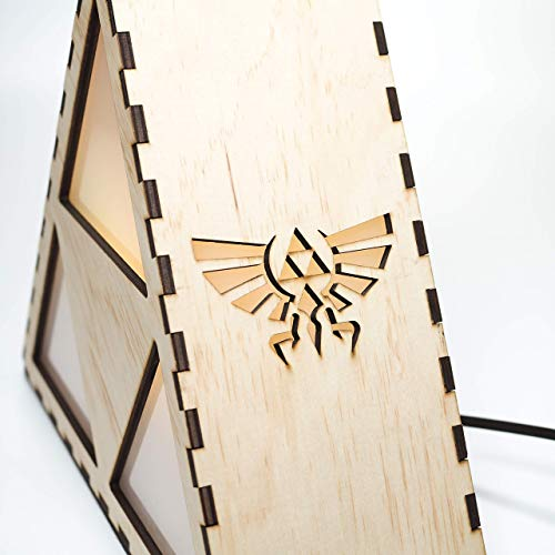 41Pw4thaMlL - Zelda Triforce Lamp