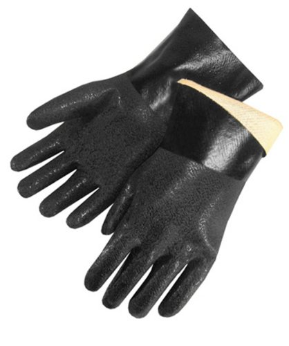 Liberty I2433 PVC Coated Jersey Lined Rough Finish Supported Men's Glove with 12