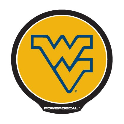 Rico Industries NCAA Light Up Power Decal, West Virginia (Virginia Motion Night Light)