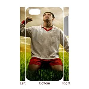 iPhone 4 4s Cell Phone Case 3D Sports soccer player praying Customized Gift pxr006_5272894