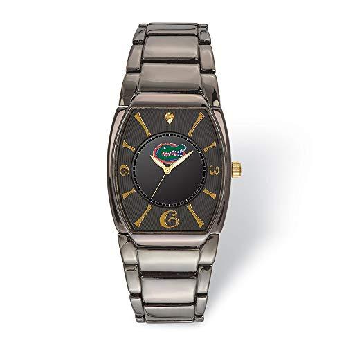 Collegiate University of Florida LogoArt University of Florida Executive Black-plated Watch