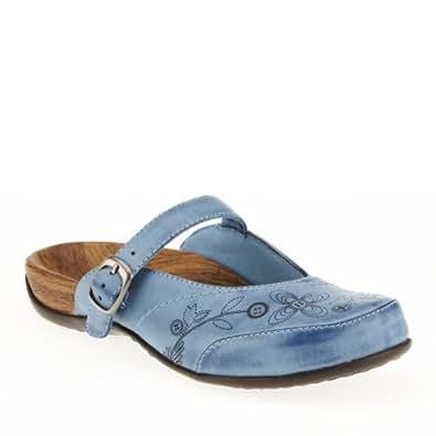 Orthaheel Women's Melissa Slip-On Mule Blue Size 7