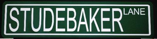 Motown Automotive Design Metal Street Sign Studebaker Lane