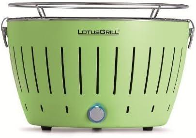 LotusGrill rauchfreier Holzkohlegrill Limettengrün G-GR-34