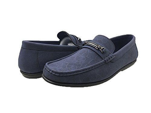 Navy 4100 Driver Mecca Loafer Men's FINN ME Shoes xPwWOq50a