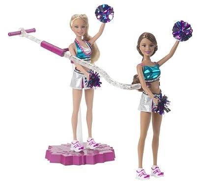 Amazon.com: Barbie Pom Pom Divas volar las niñas: Barbie y ...
