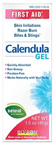 Boiron Calendula Gel, 1.5 Ounce (Pack of 3), Homeopathic Medicine for Skin Irritation and Burns (Boiron Calendula Gel)