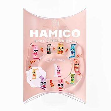 4c19e7a600191 HAMICO(ハミコ) ベビー歯ブラシ 「12 Animals(12アニマルズ)」シリーズ ウサギ