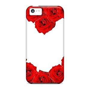 meilz aiaiOFM3619bTPj Red Roses Love Heart Awesome High Quality iphone 5/5s Cases Skinmeilz aiai