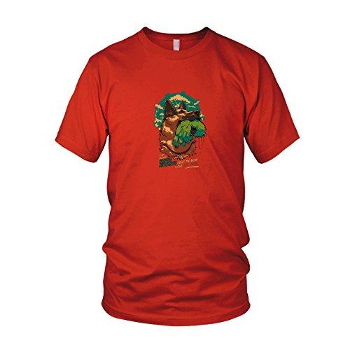 Super Mutant Dog - Herren T-Shirt, Größe: XL, Farbe: rot