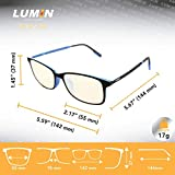 Lumin Night Driving Glasses SOL LUM-100, Unisex