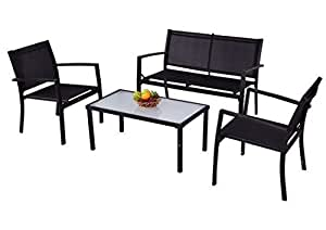 SKB Family 4 pcs Outdoor Patio Furniture Set