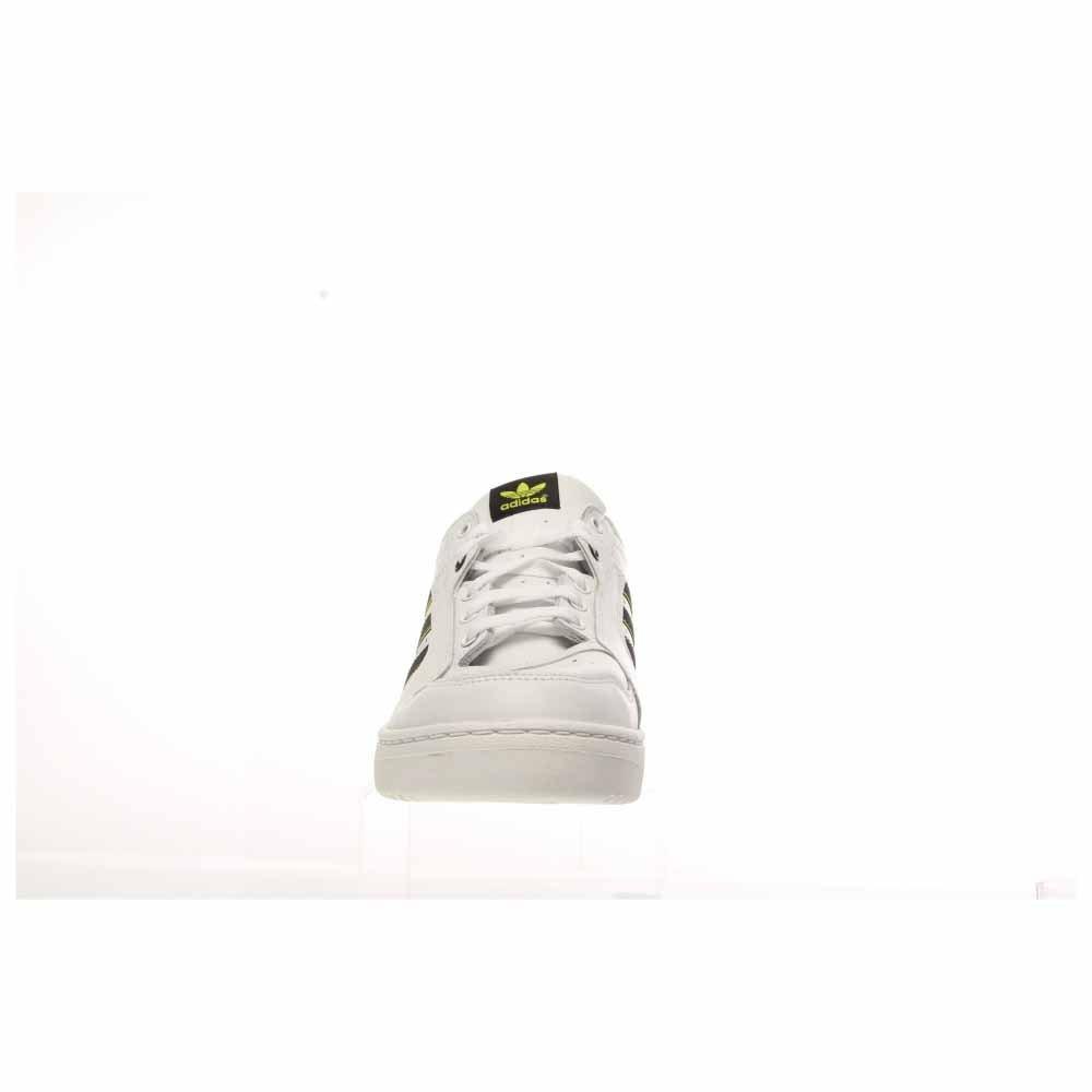 low priced 6078a 5ea5a adidas - Zapatillas para Hombre WhiteCore BlackSemi Solar Yellow  Amazon.es Zapatos y complementos
