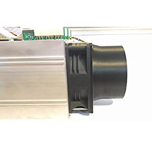 Antminer S1 S3 S5 S7 S9 T9 L3+ 120mm Fan Duct Cooling Shroud to 4 Inch Vent Hose