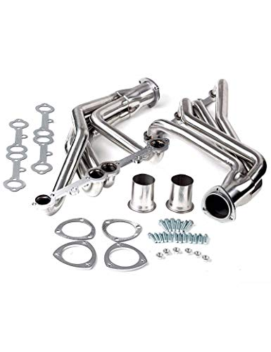 (Racing Exhaust Long Tube Headers Fit Chevy Corvette C2 C3 1963-1982 V8 305 327)