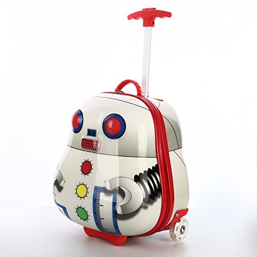 Great Features Of Kids Luggage - iPlay, iLearn Boys Girl's Luggage Hard Shell Luggage 3D Robot