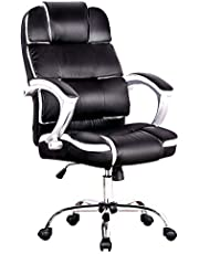 Advwin Office Chair, Ergonomic high Back Executive Computer PU Chair, Height Adjustable,63 * 73 * (113-123)