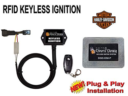 Keyless Ignition for Harley Davidson Motorcycle-ALL PRE 2012 Models by Digital Guard Dawg (Image #3)