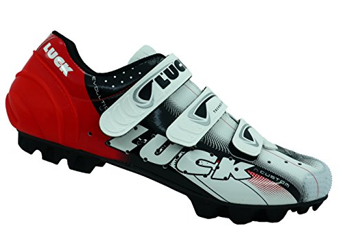 Ciclismo De Y Carbono Mtb con Sujeción Ademas Extreme Luck Tira Suela 0 Triple 3 Rojo Refuerzo Puntera Zapatillas Velcro pvwqp