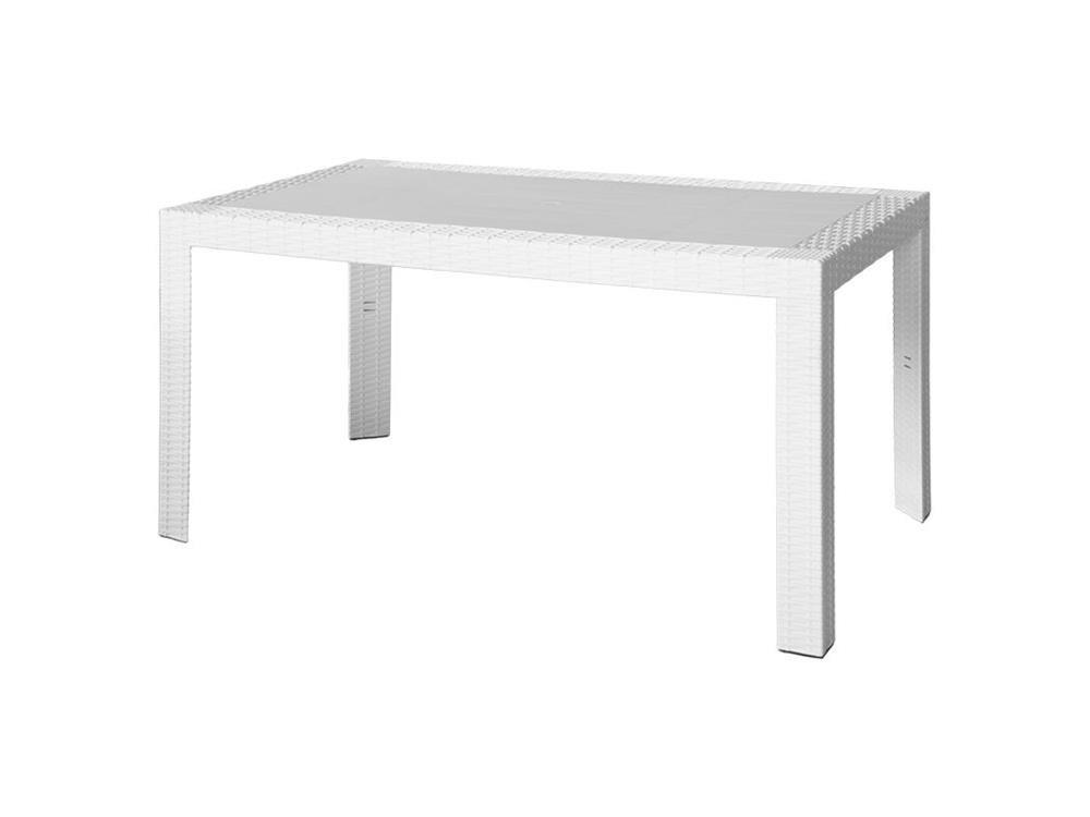 Bianco Modello Urano ARETA ARE054 Tavolo 140 x 80 x 72 cm