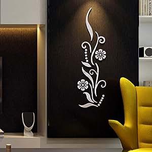 Amazon.com: Quaanti - Pegatina de pared con efecto 3D para ...