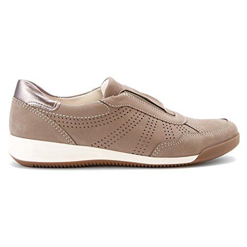 Ara Femmes Roksana Mocassins Chaussures Grigio Nubuck