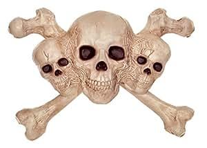 Crazy Bonez Skull & Crossbones Wall Decor